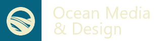 Ocean Media and Design Logo