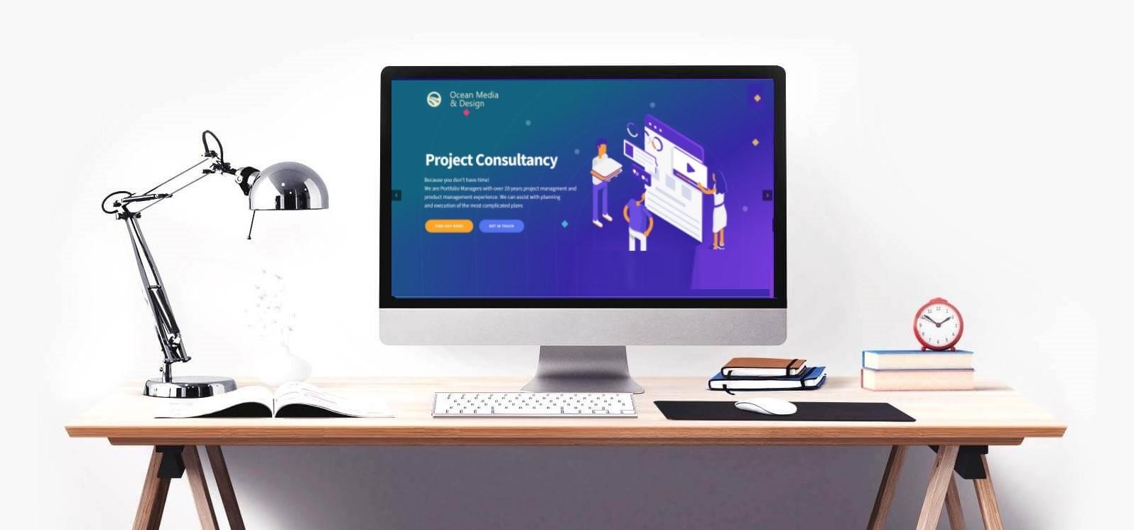 website design computer
